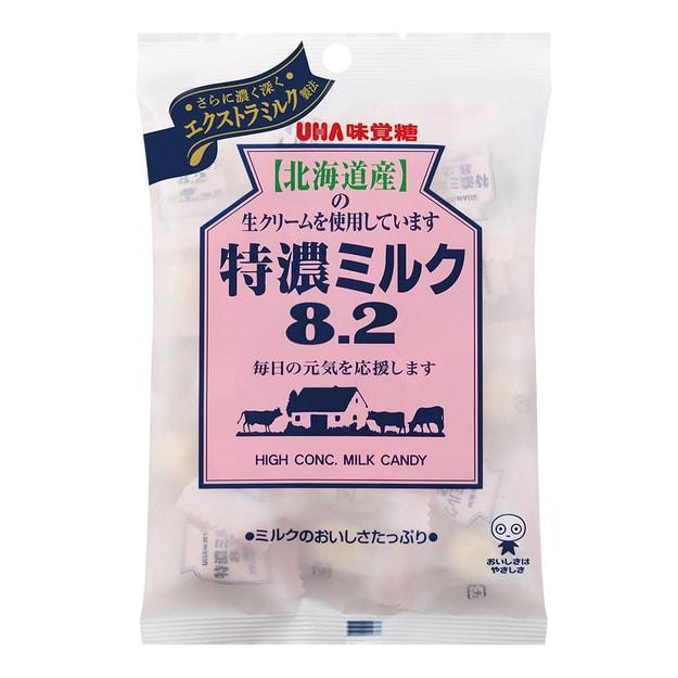 商品详情 - 日本UHA悠哈 味觉糖  8.2系列 北海道特浓牛奶糖 105g - image  0