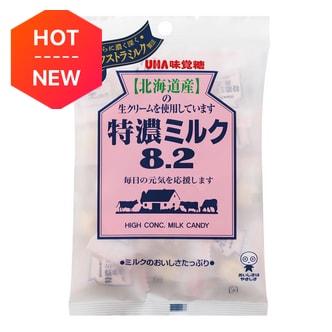 日本UHA悠哈 味觉糖  8.2系列 北海道特浓牛奶糖 105g