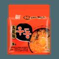 韩国六福 乌龙面 5包入
