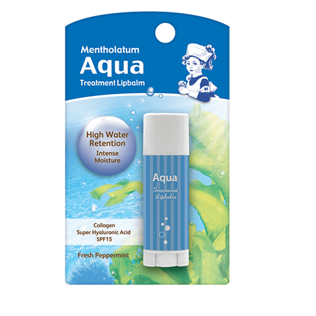 Product Detail - MENTHOLATUM Aqua Treatment Lipbalm 3.5g - image 0