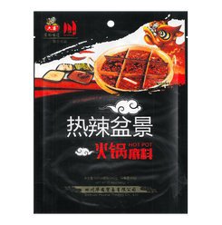 CUIHONG Liupo Hot bonsai Hot Pot Soup Base 580g