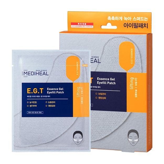 商品详情 - 韩国MEDIHEAL E.G.T 精华凝胶淡化细纹眼贴膜 5片 - image  0