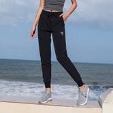 SYLPHLIKE LOLI Sports Casual Pants  For Running Yoga Fitness Train/Black#/M