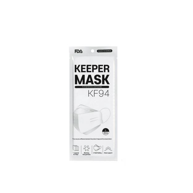 商品详情 - 韩国 FDA 守门员口罩 KF94 1pcs - image  0