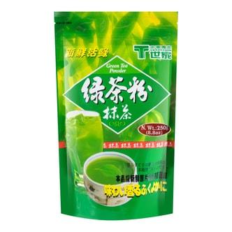 台湾世家 新鲜活绿 绿茶抹茶粉 250g