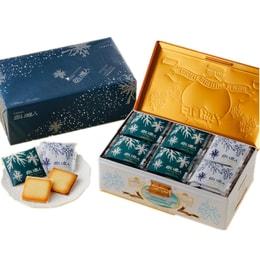 JAPAN ISHIYA White Chocolate Cookies 36pc and Black Chocolate cookies 18pc total 54pc