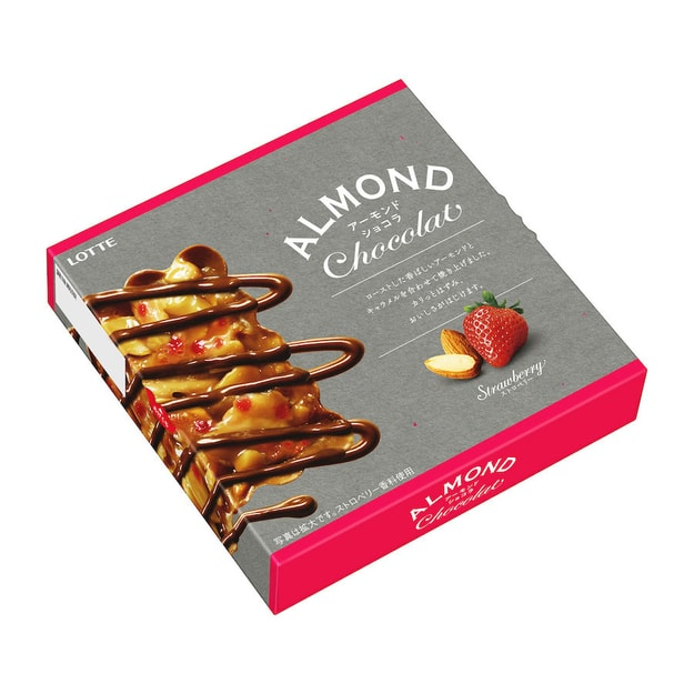 Product Detail - LOTTE Strawberry Almond Caramel Chocolate Chips 8pc - image 0