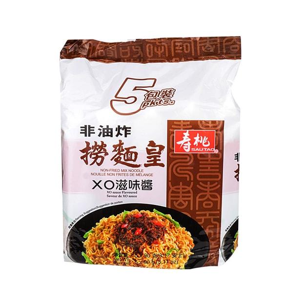 商品详情 - 香港寿桃 捞面皇(XO滋味酱) 5包入/450g - image  0
