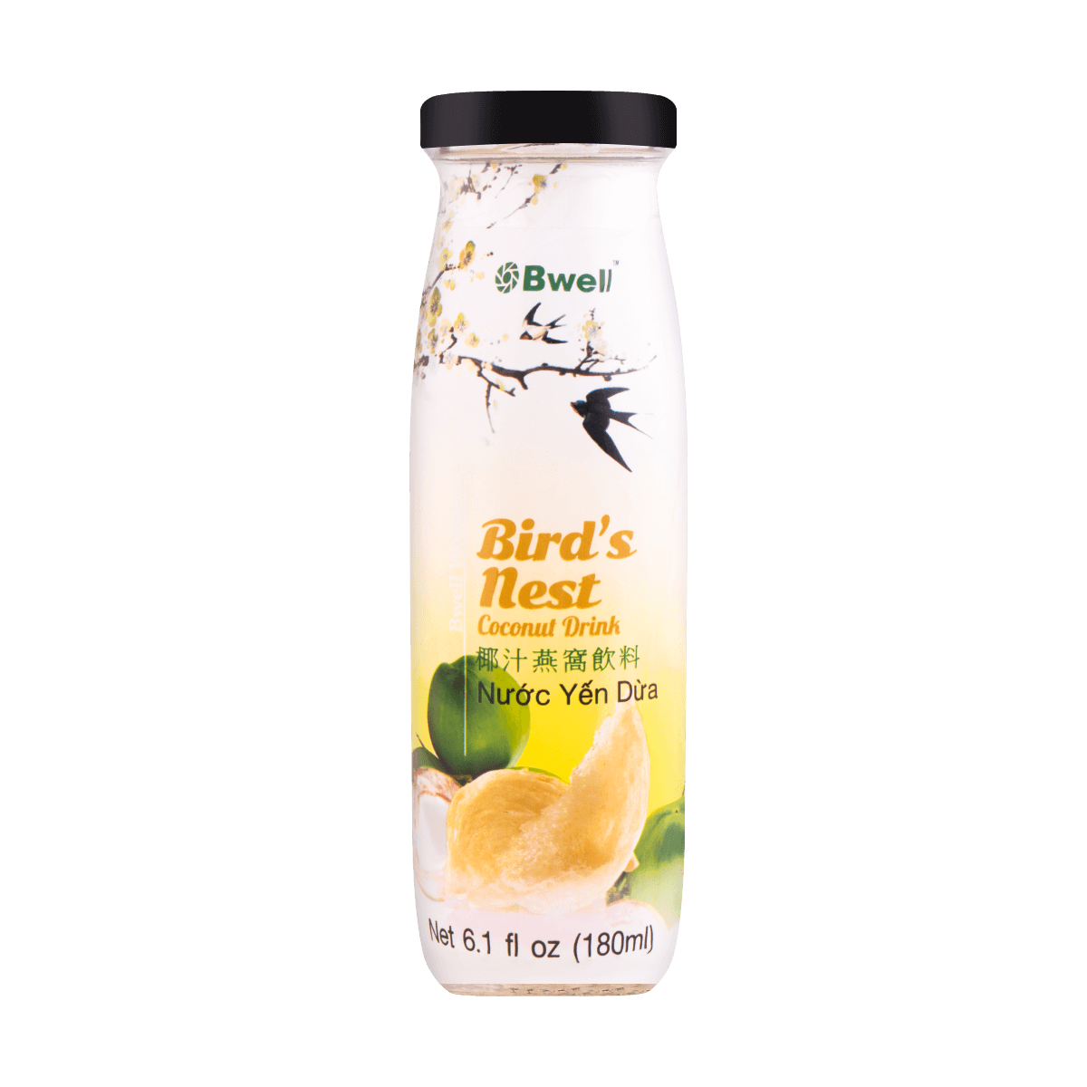 Yamibuy.com:Customer reviews:BWELL Bird's Nest Coconut Drink 180ml