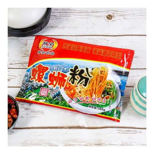 LIUQUAN Instant Spicy Rice Noodle 268g