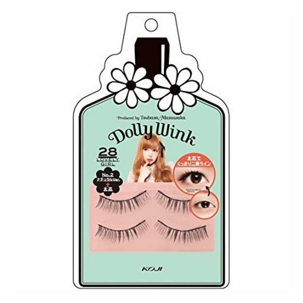 Product Detail - KOJI DOLLY WINK Eyelashes #28 - image 0