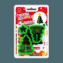 KOKUBO Christmas Series Vegetable Shaper Mold Xmas Tree
