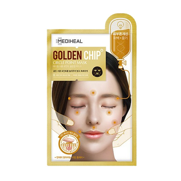 Product Detail - MEDIHEAL Circle Point Goldenchip Mask 25ml - image 0