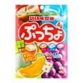 日本UHA悠哈味觉糖 4味果汁碳酸糖中糖夹心软糖 95g 期间限定