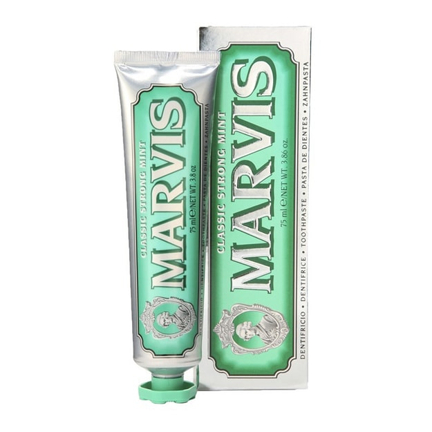 Product Detail - MARVIS Classic Strong Mint Toothpaste 75ml - image 0