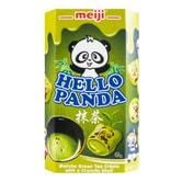 日本MEIJI明治 熊猫夹心饼干 抹茶味 60g