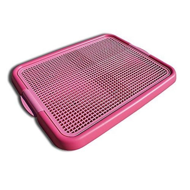 商品详情 - ALPHA DOG SERIES 宠物室内训练厕所 #粉色 - image  0