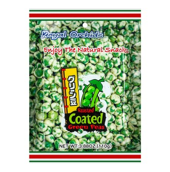 ROYAL ORCHIDS Roasted Coated Green Peans 110g