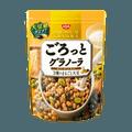 日本NISSIN日清 谷物脆水果麦片 三种谷物大豆风味 早餐即食代餐 400g