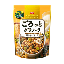 NISSIN CISCO Granola Three Whole Soybean 400g