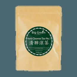 BIG GREEN Herb Cleanse Tea No. 4.5g*14 Tea Bags
