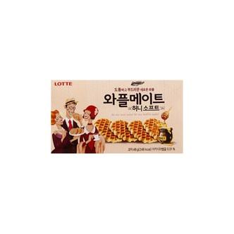韩国LOTTE乐天 蜂蜜华夫酥脆饼干 48g