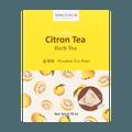 韩国JAYONE SANGRIME  三角茶包系列 柚子茶 10包入 20g