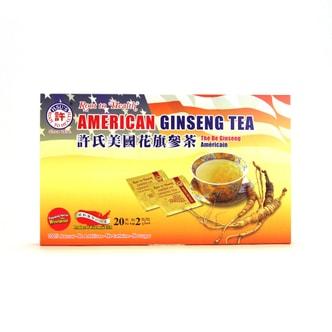 HSU'S American Ginseng Tea 20 ct/pack