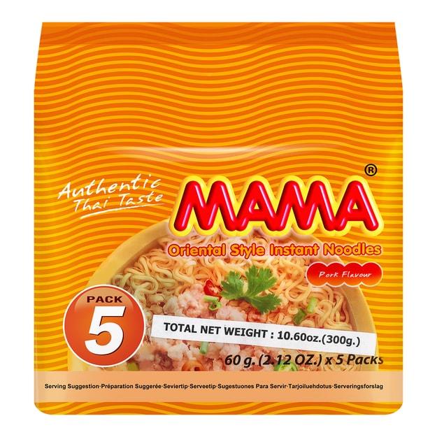 商品详情 - 泰国MAMA妈妈 肉沫味方便面 5连包 300g - image  0
