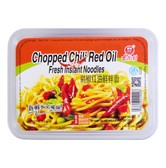 NANJIECUN Chopped Chili Red Oil Fresh Instant Noodles 266g