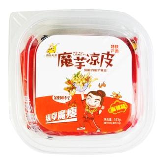 周游列果 魔芋凉皮 麻辣味(盒) 535g 陕西特产