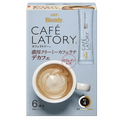 【日本直邮】 AGF Blendy Cafe Latory 醇厚奶油拿铁 6袋