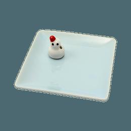 日本香堂||陶瓷香盘&雪人香立||1个