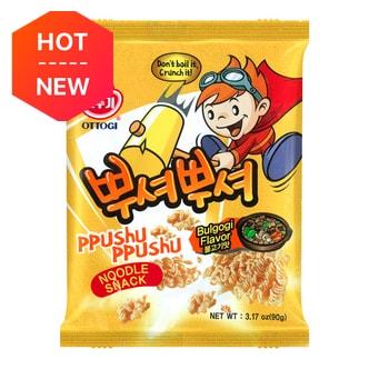 韩国OTTOGI不倒翁 PPUSHU PPUSHU 干脆面 韩式牛肉味 90g