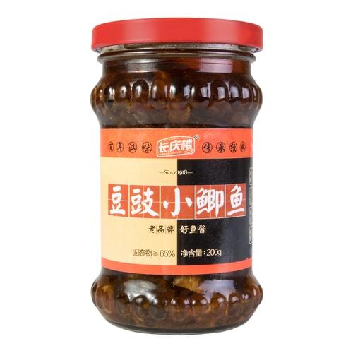Little fish in black bean fish sauce 200g for Fish in black bean sauce