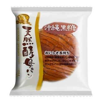日本D-PLUS 天然酵母持久保鲜面包 冲绳黑糖味 80g