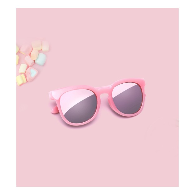 Product Detail - XIAOMIYOUPIN  TS children\'s sunglasses pink STR001-0404 - image 0