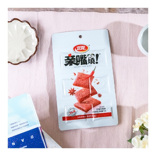 WEILONG Kiss-Burn Beef Flavor Family Size 72g