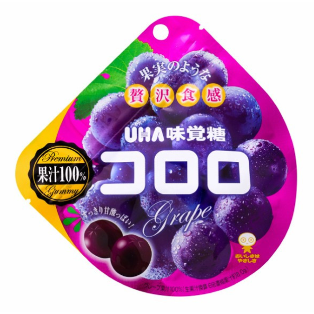 Product Detail - UHA Fruit Candy Grape Flavor  48g - image 0