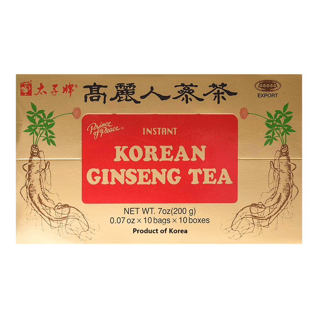 Product Detail - Prince Of Peace Instant Korean Panax Ginseng Tea - 100 Count 200g - image 0