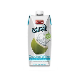 【Buy 3 Get 1 FREE】UFC Coconut Water 500ml