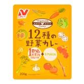 日本NICHIREI 12种蔬菜 即食营养咖喱酱 200g