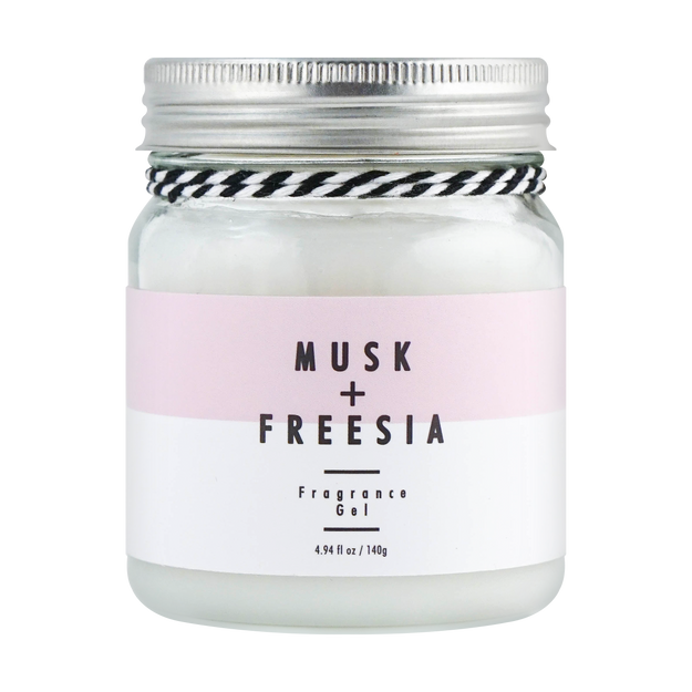 Product Detail - Room Fragrance Gel 140g #Musk+Freesia 1pc - image  0