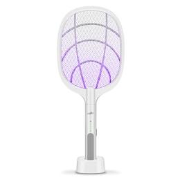 [对抗蚊蝇]MOSKY S360 USB电蚊拍充电式家用强力灭蚊灯二合一锂电池灭蚊拍打蚊子拍苍蝇神器