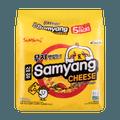SAMYANG Cheese Noodle Soup 5Packs 600g