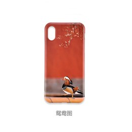 THE PALACE MUSEUM iPhone X/XS Max Case #Mandarin Duck
