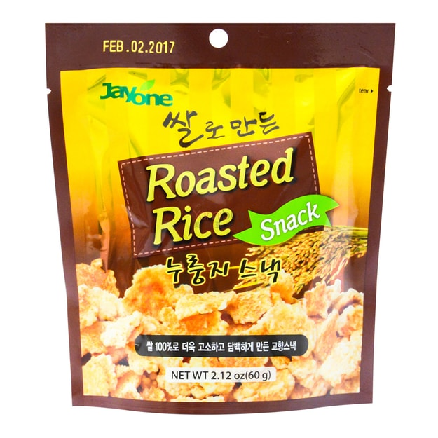 Product Detail - JAYONE Roasted Rice Snack Original 60g - image 0