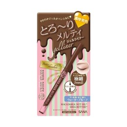 SANA Super Quick Melty Gel Liner EX Bitter Chocolate 1pc
