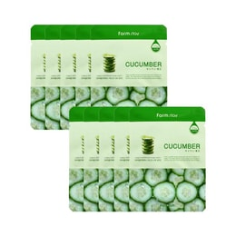 KOREA FARMSTAY Visible Difference Mask Cucumber 10pcs
