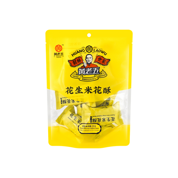 商品详情 - 黄老五 米花糖 米花酥 原味 90g - image  0